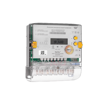 Трехфазный счетчик электроэнергии трансформаторного включения